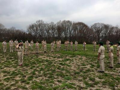ボーイ隊の訓練キャンプ