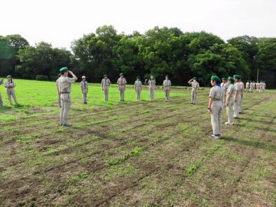 23WSJ 派遣隊訓練キャンプ