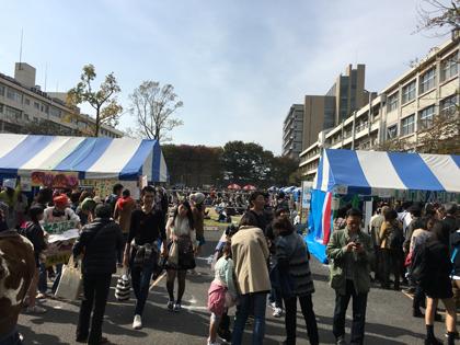 東京農業大学収穫祭 ボーイスカウト世田谷第12団