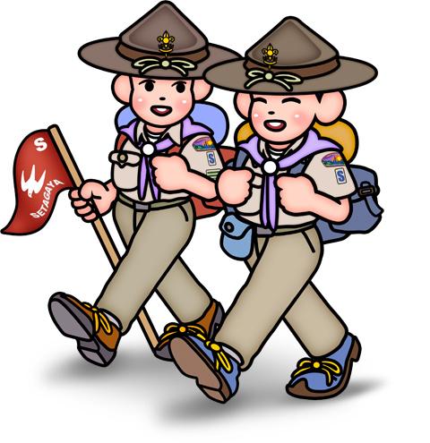 世田谷第10団 船橋小学校のおまつりに参加します