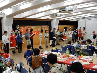 みんなで作るクリスマス会 ~世田谷第24団~
