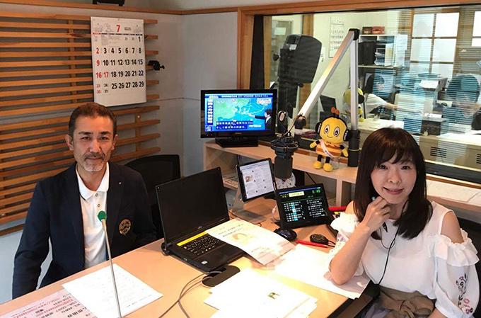 古谷地区コミッショナー、ラジオに生出演!