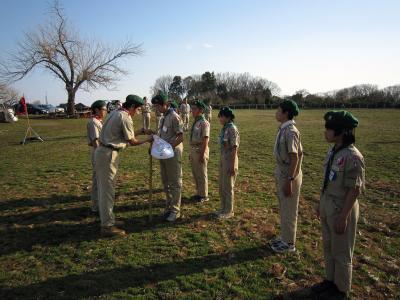 班長・次長のための訓練キャンプ