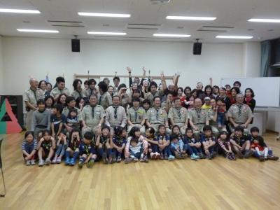 2013年12月14日 3団富士章伝達式