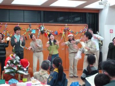 013年12月21日 世田谷24団・2団合同クリスマス集会