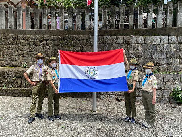 オリンピック・パラリンピック競技大会参加国・地域の国旗掲揚奉仕